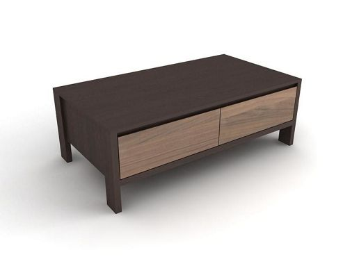 Urbane Designs Tokyo 2 Drawer Coffee Table