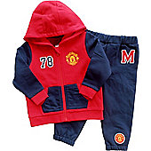 Manchester United Baby/Toddler Tracksuit - Red