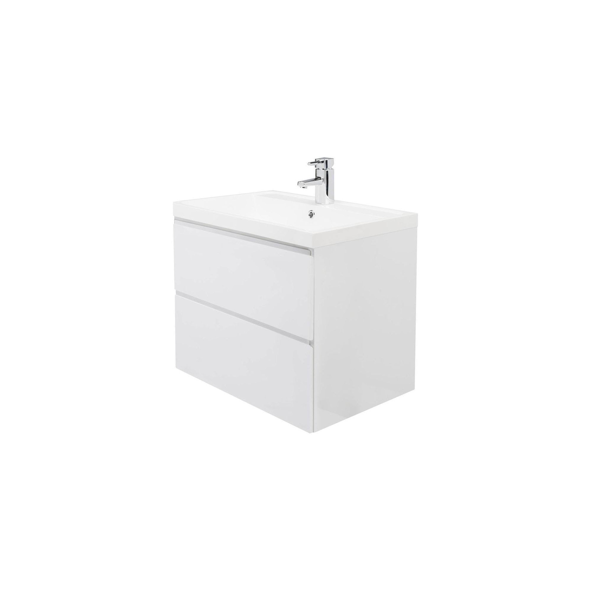 Premier Tribute 600 Wall Hung 2 Drawer Basin and Cabinet