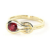 QP Jewellers 0.65ct Ruby San Francisco Ring in 14K Gold
