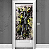 Zombie Halloween Door Banner - 1.7m