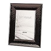 "Kenro Reveal Modern Black Photo Frame to hold a 6x4"" photo."