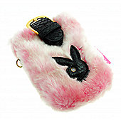 Kondor PBPPBK Playboy Phone Pouch Fur - Pink