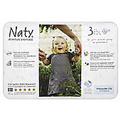 Naty By Nature Babycare Nappies - Size 3 - Small - 31 Pack