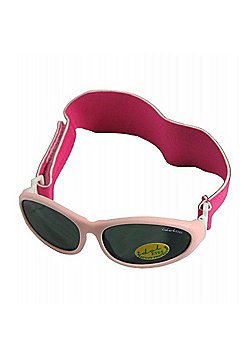 Idol Eyes Baby Wrap Sunglasses (Light Pink)