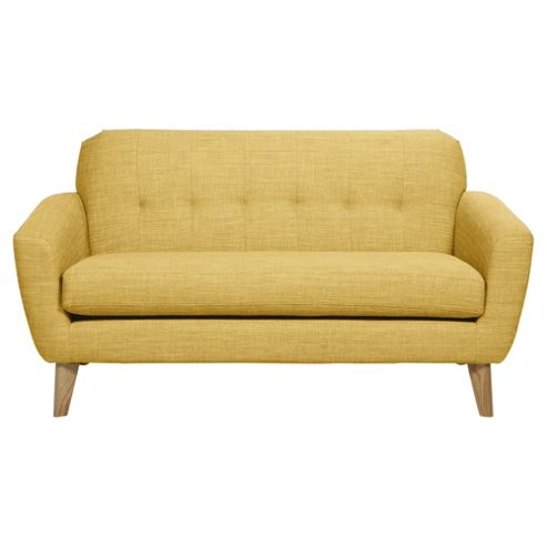 Buy Capri 2 Seater Fabric Sofa Yellow From Our Fabric