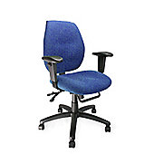 Eliza Tinsley Ergo mid back multi-functional operators chair with arms
