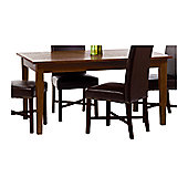 Home Essence Paris Rectangular Dining Table