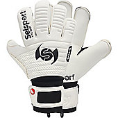 Selsport Wrappa Classic Trust Goalkeeper Gloves Size - White