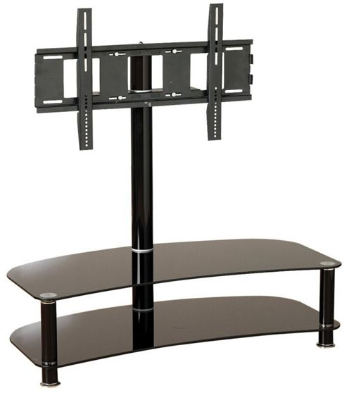 Home Zone Occasional TV Stand - Clear