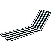 Resol Palamos Sun Lounger Cushion ONLY in Green / White stripe