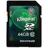 Kingston 64GB SDXC Flash Card (Class 10) CBID:2351632