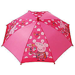 Peppa Pig 'Rocks' Nylon Umbrella