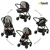 Hauck London All-In-One Travel System, Rainbow/Black