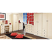 Welcome Furniture Pembroke Combi Wardrobe - Cream