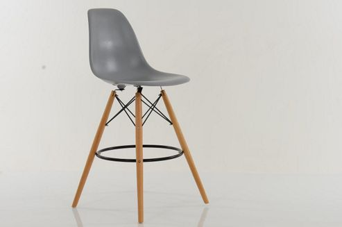 buy dsw bar stools light grey from our bar tables stools. Black Bedroom Furniture Sets. Home Design Ideas
