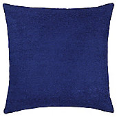 Texture Chenille Cushion Navy Large