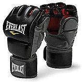 Everlast MMA Grappling Training Gloves S/M - Black