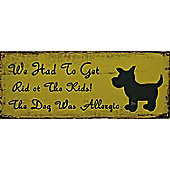 Alterton Furniture Top Dog Wall Plaque (Set of 2)