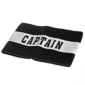 Precision Training Classic Captains Armband Black - Senior