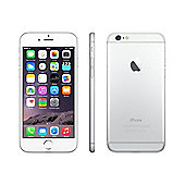 Apple iPhone 6 128GB - Silver & Otterbox Symmetry Clear Case