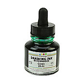 Drawing Ink Brilliant Green 28 ml Dropper Top
