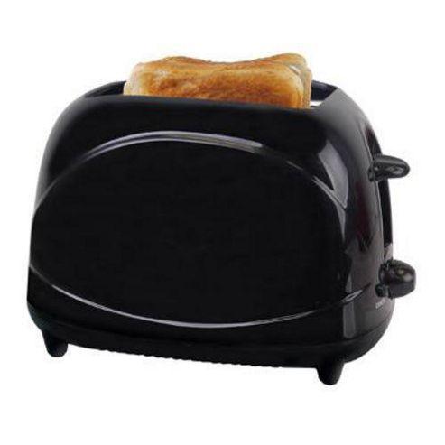 Lloytron E2010BK 2 Slice 700w Toaster - Black