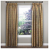 "Heythorpe Lined Pencil Pleat Curtains W117xL137cm (46x54"") - - Natural"