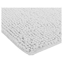 Microchenille Bobble Bathmat White