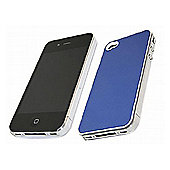 Blue MET Case - Apple iPhone 4