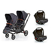 ABC Design Zoom Tandem Stroller Travel System - Street (2016)