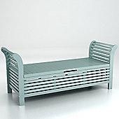 Lutyens storage bench - eau de nil
