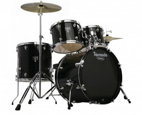Mapex TNM5294TCU-DK Tornado 5 Piece Beginners Kit (Black)