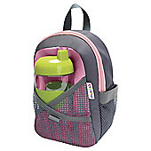 By My Side Safety Harness Backpack Pink