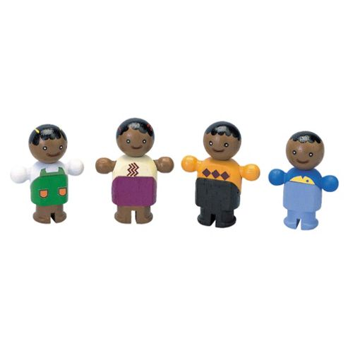 Plan Toys Ethnic Family Wooden Toy