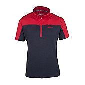 Ridgeway Mens Short Sleeved Top - Red