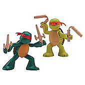 Turtles in Training Mike and Raph