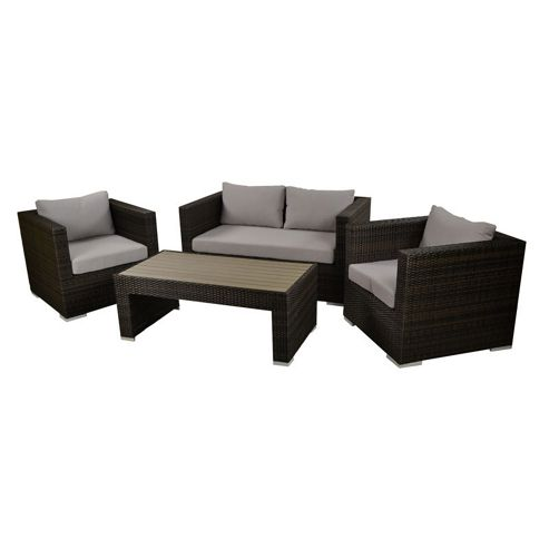 Buy Brackenstyle Denby Rattan 4 Piece Sofa Set From Our Rattan Garden Furniture Range Tesco