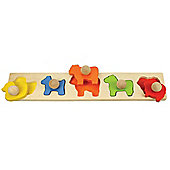 Bigjigs Toys BB041 Animal Matching Board