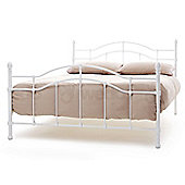 Paris Bed - Double (4ft 6') - White