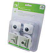 Mothercare Safest Start Protect Plus Dual Guard UK Socket Covers- 8 Pack