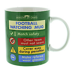 Ministry of Chaps Football Watching Mug