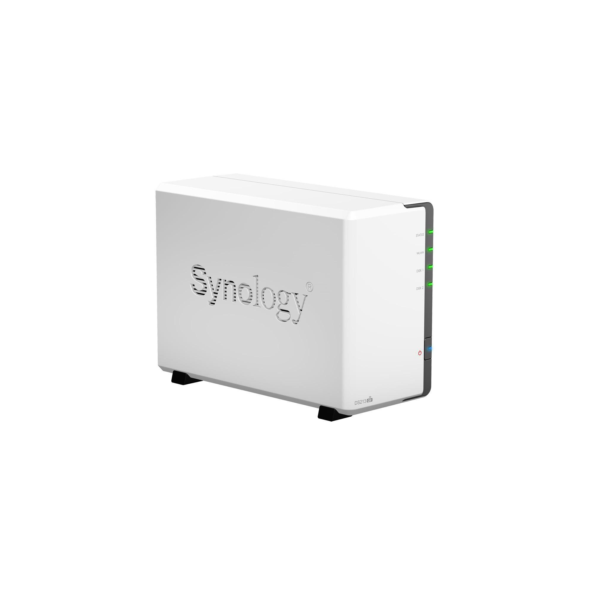 Synology DS213air 2 Bay Desktop Wifi NAS Enclosure at Tesco Direct