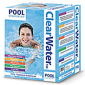 Clearwater Basic Pool Chemical Starter Set