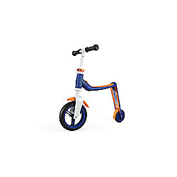 Scoot & Ride Highwaybaby 2-in-1 Scooter & Balance Bike, Blue/Orange