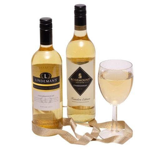 Two Bottles Australian White Wine