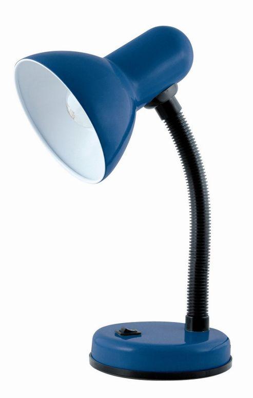 Lloytron 40W Home Essence Flexi Desk Lamp Navy Blue