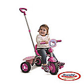 Hello Kitty Kids Pedal Tricycle With Push Bar Ohky65 - Outdoor and Sports