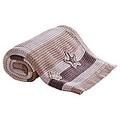 Clair de Lune Pick 'n' Mix Pram Blanket - Natural