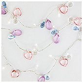 Tesco Kids Pastel Jewel Line Lights